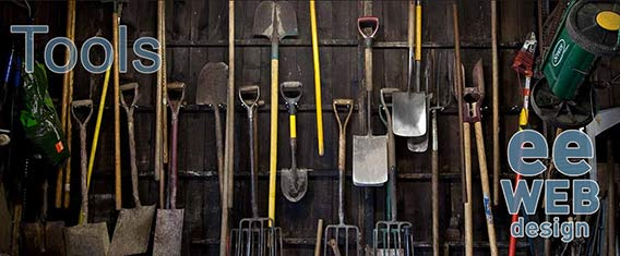 tools shed with ee-web