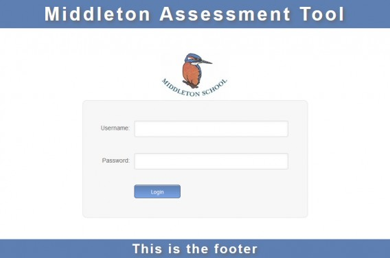middleton assessment login