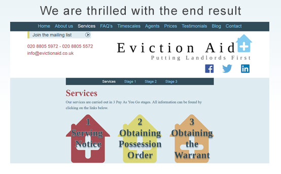 eviction aid love ee-web design