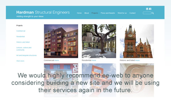 hardman structural engineers projects page