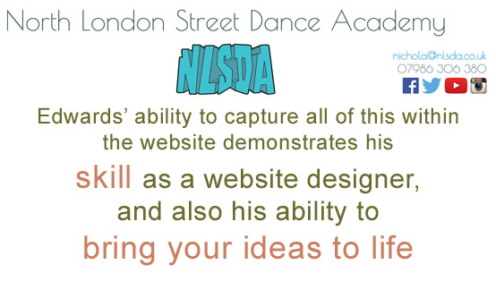 north london street dance academy screen shot