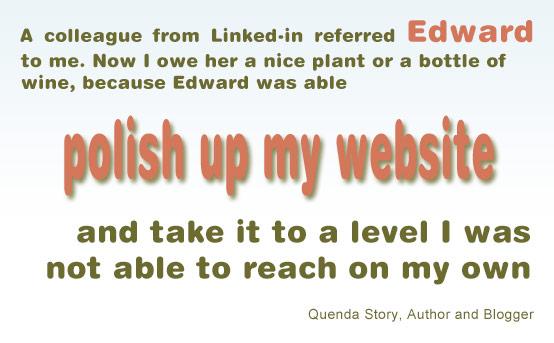 polish up my site