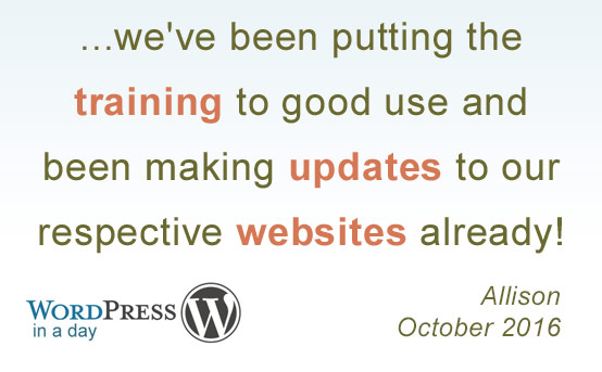 wordpress in a day quote